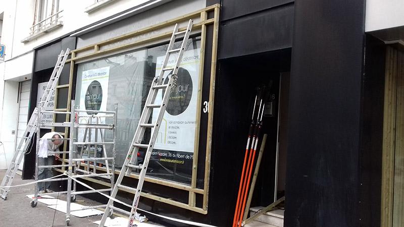 Aménagement de magasin