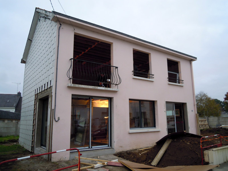 Rénovation maison St-Nazaire