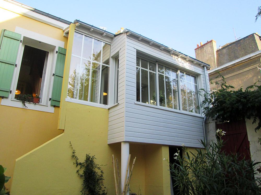 Extension maison Saint Nazaire